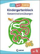 Cover-Bild zu Die neuen LernSpielZwerge - Konzentrationsübungen von Loewe Lernen und Rätseln (Hrsg.)