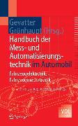 Cover-Bild zu Handbuch der Mess- und Automatisierungstechnik im Automobil (eBook) von Löhr, Wikhart (Beitr.)