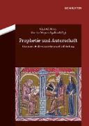 Cover-Bild zu Prophetie und Autorschaft (eBook) von Wagner-Egelhaaf, Martina (Hrsg.)