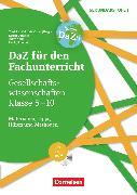 Cover-Bild zu DaZ für den Fachunterricht der Sekundarstufe I, Klasse 5-10, Gesellschaftswissenschaften, Materialien, Tipps, Hilfen und Methoden, Kopiervorlagen mit CD-ROM von Altun, Tülay