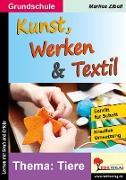 Cover-Bild zu Kunst, Werken & Textil von Zibell, Marlies