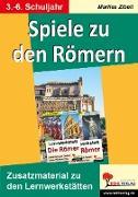 Cover-Bild zu Spiele zu den Römern (eBook) von Zibell, Marlies