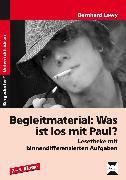Cover-Bild zu Begleitmaterial: Was ist los mit Paul? von Lewy, Bernhard