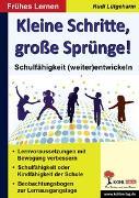 Cover-Bild zu Kleine Schritte, große Sprünge! (eBook) von Lütgeharm, Rudi