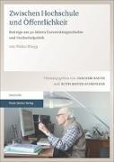 Cover-Bild zu Zwischen Hochschule und Öffentlichkeit von Rüegg, Walter
