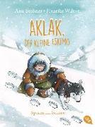 Cover-Bild zu Aklak, der kleine Eskimo - Spuren im Schnee