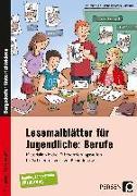 Cover-Bild zu Lesemalblätter für Jugendliche: Berufe von Pufendorf, Christine von