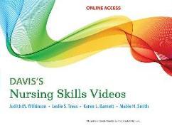 Cover-Bild zu Davis's Nursing Skills Videos: 4 year access von Wilkinson, Judith M.