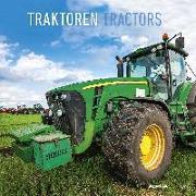 Cover-Bild zu Traktoren 2022 - Broschürenkalender 30x30 cm (30x60 geöffnet) - Kalender mit Platz für Notizen - Tractors - Bildkalender - Wandplaner - Alpha Edition