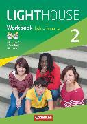Cover-Bild zu English G Lighthouse, Allgemeine Ausgabe, Band 2: 6. Schuljahr, Workbook mit CD-ROM (e-Workbook) und Audio-CD - Lehrerfassung, Audio-Dateien auch als MP3 von Berwick, Gwen