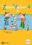 Cover-Bild zu Zahlenzauber, Mathematik für Grundschulen, Allgemeine Ausgabe 2016, 4. Schuljahr, Schülerbuch mit Kartonbeilagen von Betz, Bettina
