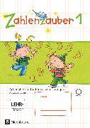 Cover-Bild zu Zahlenzauber, Mathematik für Grundschulen, Ausgabe Bayern 2014, 1. Jahrgangsstufe, Arbeitsheft mit interaktiven Übungen, Mit CD-ROM und Lösungsheft von Betz, Bettina