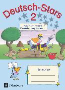 Cover-Bild zu Deutsch-Stars, Allgemeine Ausgabe, 2. Schuljahr, Fördern und Inklusion, Übungsheft, Mit Lösungen von Dolenc-Petz, Ruth