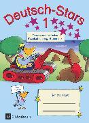 Cover-Bild zu Deutsch-Stars, Allgemeine Ausgabe, 1. Schuljahr, Fördern und Inklusion, Übungsheft, Mit Lösungen von Dolenc-Petz, Ruth