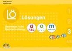Cover-Bild zu Denkwege in die Rechtschreibung. a-o-m 3. Lösungen von Balhorn, Heiko
