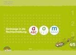 Cover-Bild zu Denkwege in die Rechtschreibung: a-o-m 4/5 von Balhorn, Heiko