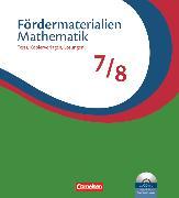 Cover-Bild zu Fördermaterialien Mathematik, Sekundarstufe I, 7./8. Schuljahr, Tests, Kopiervorlagen mit Lösungsblättern und CD-ROM, Im Ordner