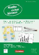 Cover-Bild zu Mathe sicher können, 5.-8. Schuljahr, Förderbausteine Sachrechnen, Handreichungen für ein Diagnose- und Förderkonzept von Dröse, Jennifer