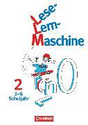 Cover-Bild zu Lese-Lern-Maschine, Band 2: 7.-9. Schuljahr, Arbeitsheft, Mit Lösungsheft von Pramper, Wolfgang
