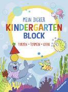Cover-Bild zu Mein dicker Kindergartenblock von Zimmermann, Britta