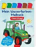 Cover-Bild zu Mein Wasserfarben-Malbuch Fahrzeuge von Beurenmeister, Corina (Illustr.)