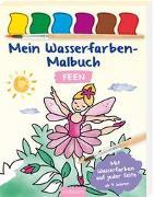 Cover-Bild zu Mein Wasserfarben-Malbuch Feen von Beurenmeister, Corina (Illustr.)