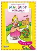 Cover-Bild zu Mein erstes großes Malbuch: Märchen: Malen ab 3 Jahren von Muszynski, Eva