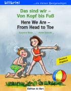 Cover-Bild zu Das sind wir - Von Kopf bis Fuß. Kinderbuch Deutsch-Englisch von Böse, Susanne