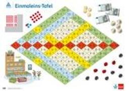 Cover-Bild zu Rechenposter Einmaleins-Tafel - 1. Schuljahr von Müller, Gerhard N.