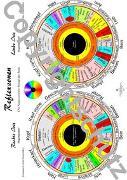 Cover-Bild zu Irisdiagnosekarte - A3 von Aeckersberg, Tanja