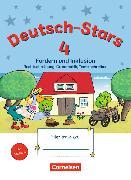Cover-Bild zu Deutsch-Stars, Allgemeine Ausgabe, 4. Schuljahr, Fördern und Inklusion, Übungsheft, Mit Lösungen von Dolenc-Petz, Ruth