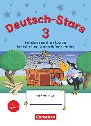 Cover-Bild zu Deutsch-Stars, Allgemeine Ausgabe, 3. Schuljahr, Fördern und Inklusion, Übungsheft, Mit Lösungen von Dolenc-Petz, Ruth
