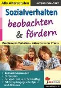 Cover-Bild zu Sozialverhalten beobachten und fördern von Tille-Koch, Jürgen