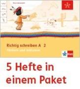 Cover-Bild zu Mein Anoki-Übungsheft. Richtig schreiben A. Fördern und Inklusion. Arbeitsheft Klasse 2 (5-er Paket)