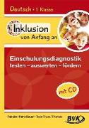 Cover-Bild zu Inklusion von Anfang an: Deutsch - Einschulungsdiagnostik: testen - auswerten - fördern (Inkl. CD) von Pakulat, Dorothee