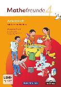 Cover-Bild zu Mathefreunde, Ausgabe Nord 2010 (Berlin, Brandenburg, Mecklenburg-Vorpommern, Sachsen-Anhalt), 4. Schuljahr, Arbeitsheft mit CD-ROM von Elsner, Jana