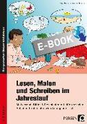 Cover-Bild zu Lesen, Malen und Schreiben im Jahreslauf (eBook) von Holzer, Birgit