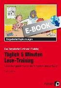Cover-Bild zu Täglich 5 Minuten Lese-Training - 3./4. Klasse (eBook) von Kirschbaum, Klara