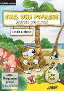 Cover-Bild zu Emil und Pauline 3 in 1 Bundle - Deutsch und Mathe für die 1. Klasse von Bartl, Almuth