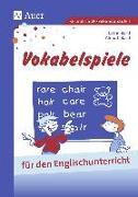 Cover-Bild zu Vokabelspiele für den Englischunterricht in der Grund- und Hauptschule von Bartl, Almuth