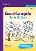 Cover-Bild zu Knobel-Lernspiele für die 4. Klasse von Bartl, Almuth