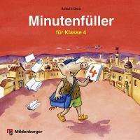 Cover-Bild zu Minutenfüller Klasse 4 von Bartl, Almuth