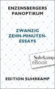 Cover-Bild zu Enzensbergers Panoptikum (eBook) von Enzensberger, Hans Magnus