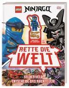 Cover-Bild zu LEGO® NINJAGO® Rette die Welt von Hugo, Simon