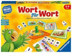 Cover-Bild zu Ravensburger 24955 - Wort für Wort - Spielen und Lernen für Kinder, Lernspiel für Kinder von 6-9 Jahren, Spielend Neues Lernen für 1-4 Spieler von Walch, Helmut