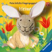 Cover-Bild zu Mein liebstes Fingerpuppenbuch: Hallo, kleiner Hase! von Penners, Bernd