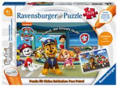 Cover-Bild zu Ravensburger tiptoi Spiel 00069 Puzzle für kleine Entdecker: Paw Patrol - 2x24 Teile Kinderpuzzle ab 4 Jahren, für Jungen und Mädchen, 1 Spieler