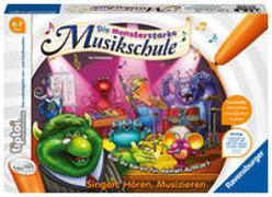 Cover-Bild zu Ravensburger tiptoi Spiel 00555 Monsterstarke Musikschule - Lernspiel ab 4 Jahren, Singen-Hören-Musizieren, für 1-4 Spieler