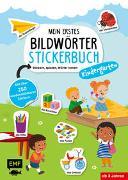 Cover-Bild zu Mein erstes Bildwörter-Stickerbuch - Kindergarten