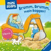 Cover-Bild zu Brumm, brumm, mein Bagger! von Grimm, Sandra